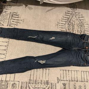 Size 2 Level 99 stitch fix skinny distressed jeans